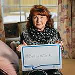 Mary Walsh has been a very active spokesperson for Bell's Let's Talk campaign, helping promote awareness and raise money for Mental Illness initiatives in Canada.