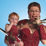 Mary Walsh has been donning Marg Delahunty's Warrior Princess costume for more than 20 hilarious years.